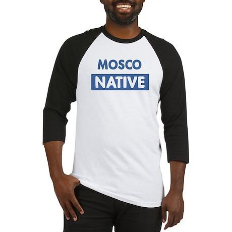 MOSCO native Baseball Jersey