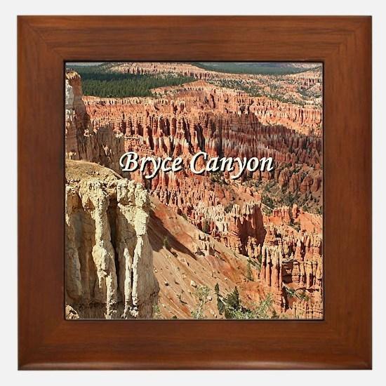 Cute Bryce canyon national park Framed Tile