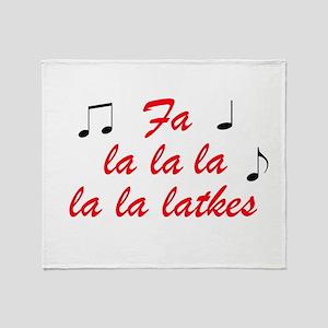 falalalalalalatekes Throw Blanket