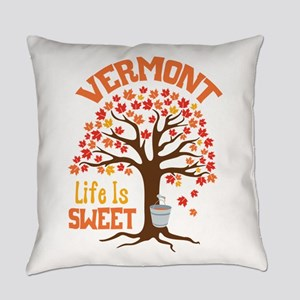 VERMONT Life Is SWEET Everyday Pillow
