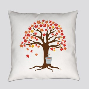 Maple Syrup Tree Everyday Pillow