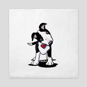 BW Australian Cattle Dog Queen Duvet