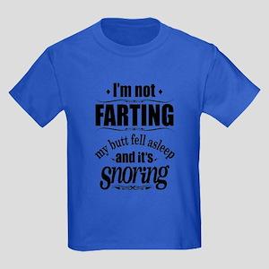 Fart Snoring Kids Dark T-Shirt