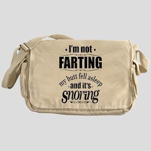 Fart Snoring Messenger Bag