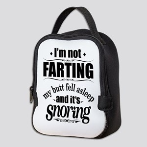 Fart Snoring Neoprene Lunch Bag