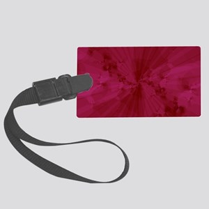 Shattered in Magenta Large Luggage Tag
