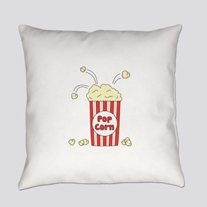 Pop Corn Everyday Pillow