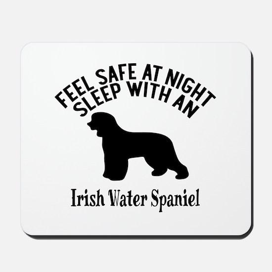 Feel Safe At Night Sleep With Irish Wate Mousepad
