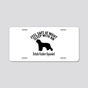 Feel Safe At Night Sleep Wi Aluminum License Plate