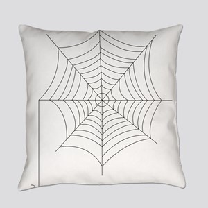 Spider Web Everyday Pillow