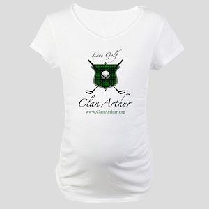 Clan Arthur - Love Golf Maternity T-Shirt