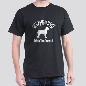 Feel Safe At Night Sleep With Irish W Dark T-Shirt