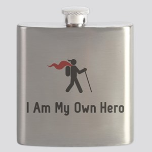Hiking Hero Flask