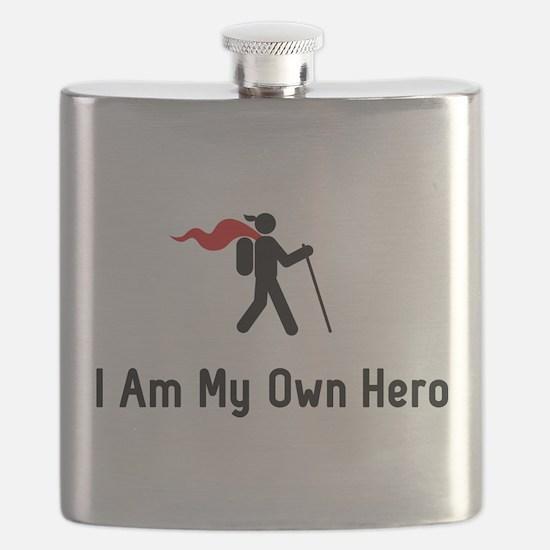 Hiking Hero Flask