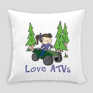 Love ATVs Everyday Pillow