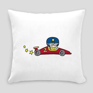 Red Racing Car Everyday Pillow