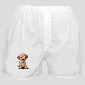 KiniArt Goldendoodle Puppy Boxer Shorts