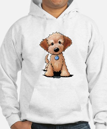 KiniArt Goldendoodle Puppy Hoodie