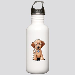KiniArt Goldendoodle P Stainless Water Bottle 1.0L