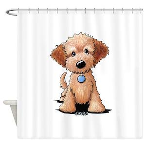 Puppy Shower Curtains