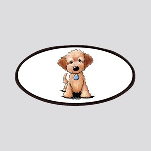 KiniArt Goldendoodle Puppy Patch