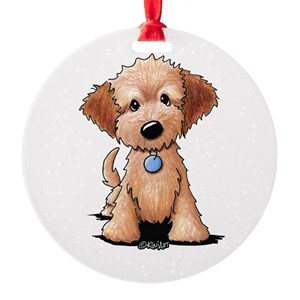 goldendoodle ornaments cafepress