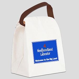 Welcome to Newfoundland & Labrado Canvas Lunch Bag