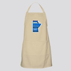 Welcome to Manitoba, Canada Apron