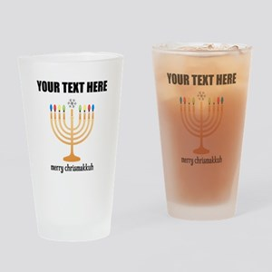 Personalized Chrismakkuh Drinking Glass
