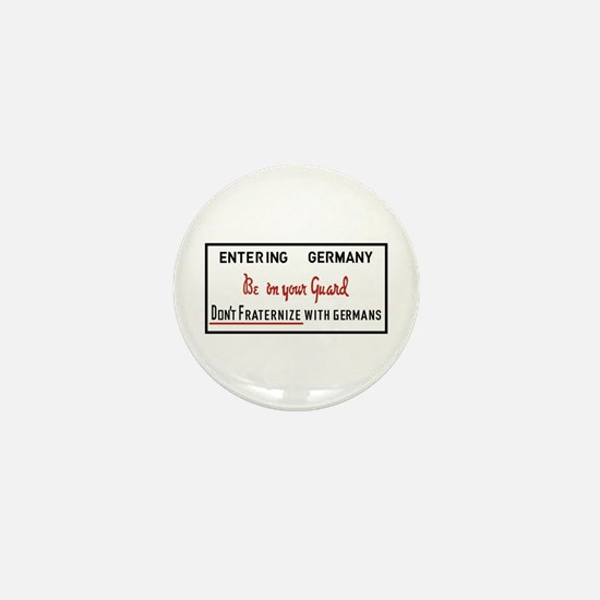 Be On Your Guard, Germany WWII Mini Button