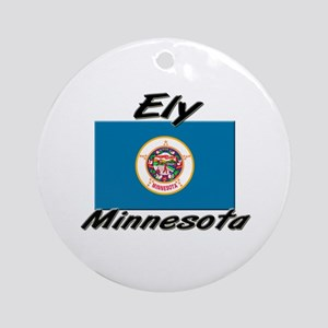 Ely Minnesota Ornament (Round)