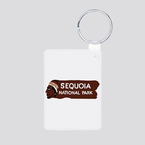 Sequoia National Park, Cal Aluminum Photo Keychain