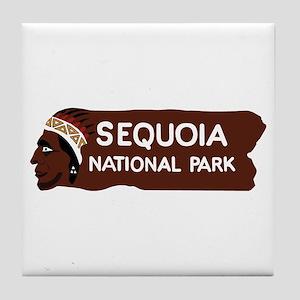 Sequoia National Park, California - U Tile Coaster