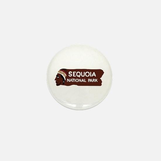 Sequoia National Park, California - US Mini Button