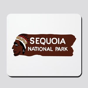 Sequoia National Park, California - USA Mousepad