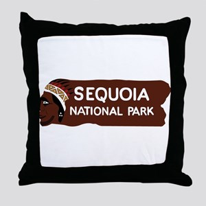 Sequoia National Park, California - U Throw Pillow