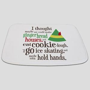 Elf Movie Quote Bathmat