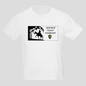 Natchez Trace Parkway, Alabama Kids Light T-Shirt