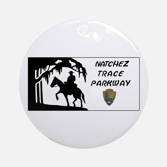 Natchez Trace Parkway, Alabama - US Round Ornament