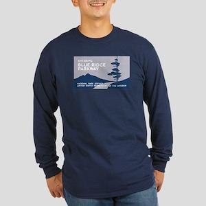 Blue Ridge Parkway, VA & Long Sleeve Dark T-Shirt