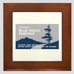 Blue Ridge Parkway, VA & NC - USA Framed Tile