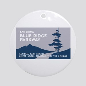 Blue Ridge Parkway, VA & NC - USA Round Ornament