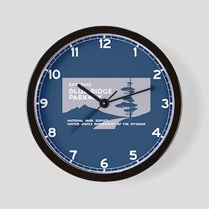 Blue Ridge Parkway, VA & NC - USA Wall Clock