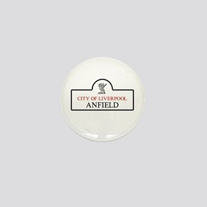 Anfield Borough, Liverpool, UK Mini Button
