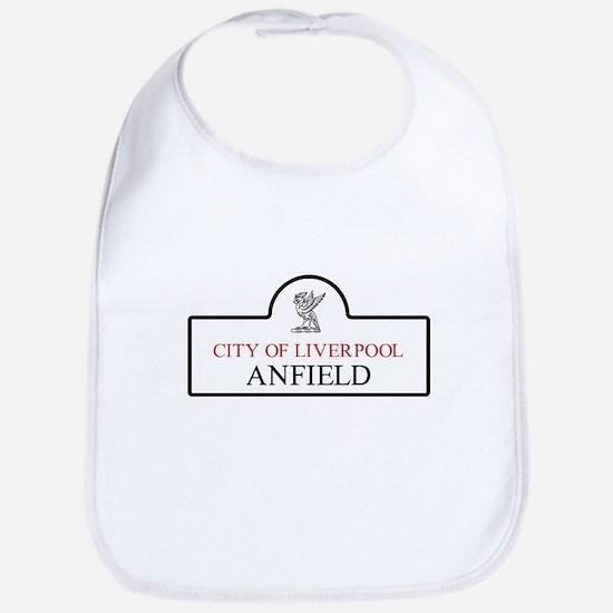 Anfield Borough, Liverpool, UK Bib