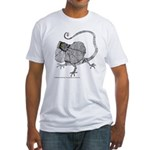 Frilled Lizard Fitted T-Shirt