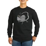 Frilled Lizard Long Sleeve Dark T-Shirt