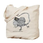 Frilled Lizard Tote Bag