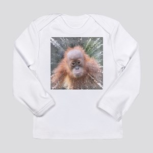 50e146c88d65 Explosive Animal - Orangutan b Long Sleeve T-Shirt