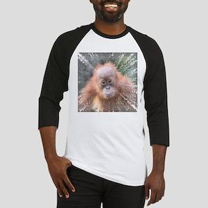 Explosive Animal - Orangutan baby Baseball Jersey